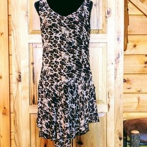EUC Cute Mechant Animal Print Sleeveless Dress